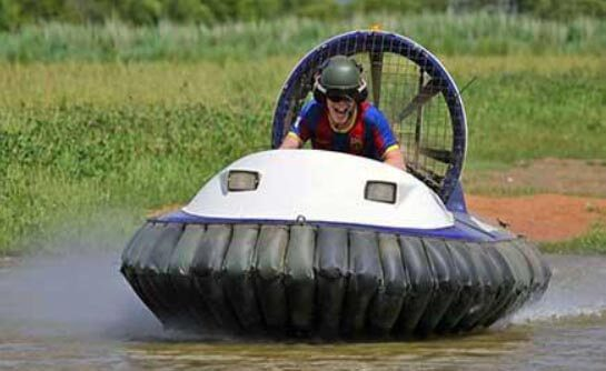 hover craft racing activity