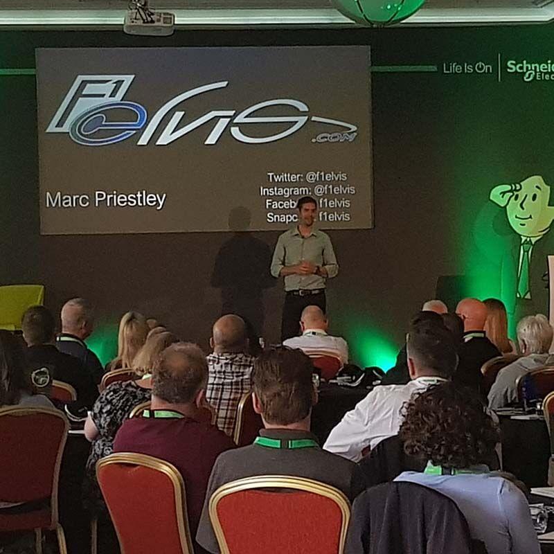 guest speaker marc priestley